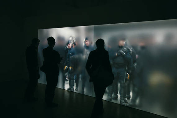 Uniform- vue 2 -installation interactive de S. Bianchini